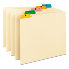 SMD50180 - Smead® Alphabetic Top Tab Indexed File Guide Set