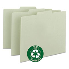 SMD50334 - Smead® Recycled Blank Top Tab File Guides