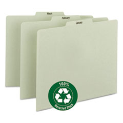 SMD50365 - Smead® 100% Recycled Monthly Top Tab File Guide Set