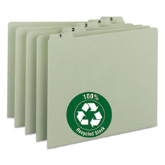 SMD50369 - Smead® 100% Recycled Daily Top Tab File Guide Set
