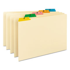 SMD52180 - Smead® Alphabetic Top Tab Indexed File Guide Set
