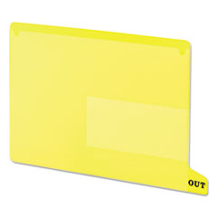 SMD61956 - Smead® Colored Poly Outguides with Pockets