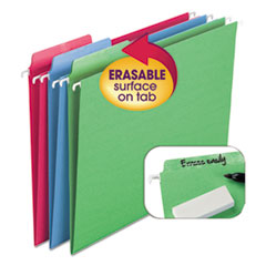 SMD64032 - Smead® Erasable FasTab® Hanging Folders