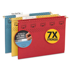 SMD64040 - Smead® TUFF® Hanging Folders with Easy Slide™ Tab