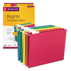 SMD64059 - Smead® Colored Hanging File Folders