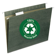 SMD65001 - Smead® 100% Recycled Colored Hanging File Folders