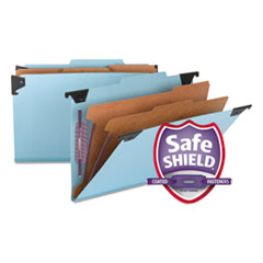 SMD65165 - Smead® Hanging Classification Folders with SafeSHIELD™ Coated Fasteners