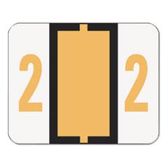 SMD67372 - Smead® Numerical End Tab File Folder Labels