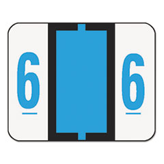 SMD67376 - Smead® Numerical End Tab File Folder Labels