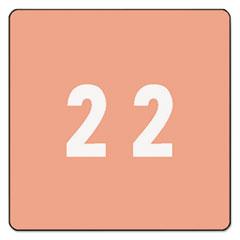 SMD67422 - Smead® Numerical End Tab File Folder Labels