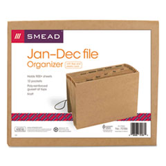 SMD70186 - Smead® Indexed Expanding Kraft Files