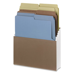 SMD70221 - Smead® Organized Up® Vertical Stadium® Files with Heavyweight Vertical Folders