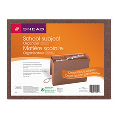 SMD70540 - Smead® Six-Pocket Subject File with Insertable Tabs