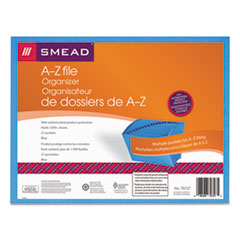 SMD70727 - Smead® Open Top A-Z Expanding File With Antimicrobial Product Protection