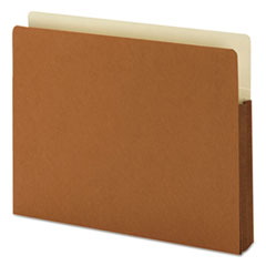 SMD73254 - Smead® Redrope Drop Front File Pockets with Tyvek® Lined Gussets