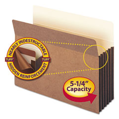 SMD73390 - Smead® Redrope Tuff® Pocket Drop Front File Pockets with Tyvek® Lined Gussets