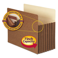 SMD73395 - Smead® Redrope Tuff® Pocket Drop Front File Pockets with Tyvek® Lined Gussets