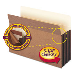 SMD74390 - Smead® Redrope Tuff® Pocket Drop Front File Pockets with Tyvek® Lined Gussets