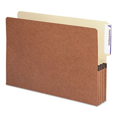 SMD74624 - Smead® Heavy-Duty Redrope Drop Front End Tab File Pockets