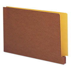SMD74665 - Smead® Redrope File Pockets with Goldenrod Back