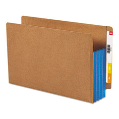 SMD74679 - Smead® Redrope Drop Front End Tab File Pockets with Colored Tyvek® Gussets