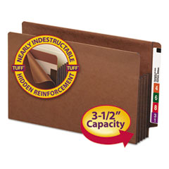 SMD74780 - Smead® Heavy-Duty Redrope Drop Front End Tab File Pockets