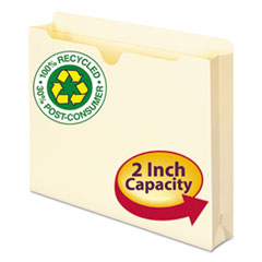 SMD75605 - Smead® 100% Recycled Top Tab File Jacket
