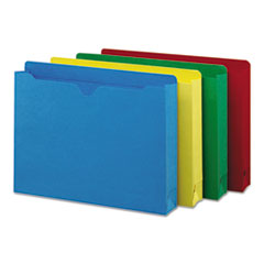 SMD75673 - Smead® Colored File Jackets with Reinforced Double-Ply Tab