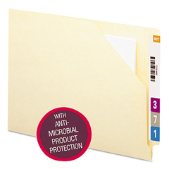 SMD75715 - Smead® End Tab File Jacket with Antimicrobial Product Protection