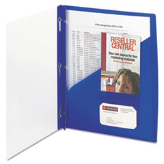 SMD86011 - Smead® Clear Front Poly Report Cover with Fasteners