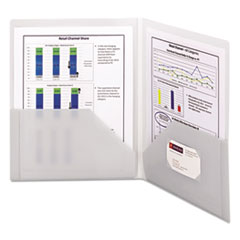 SMD87706 - Smead® Frame View Poly Two-Pocket Folder