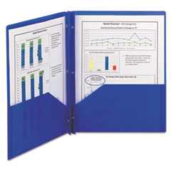 SMD87726 - Smead® Poly Two-Pocket Folder with Fasteners