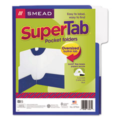 SMD87964 - Smead® SuperTab® Two-Pocket Folder