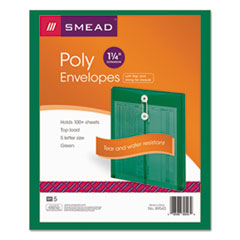 SMD89543 - Smead® Ultracolor® Poly String & Button Interoffice Envelope