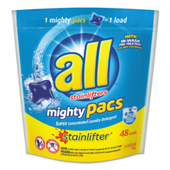 SNP197003270 - All® Mighty Pacs Super Concentrated Laundry Detergent