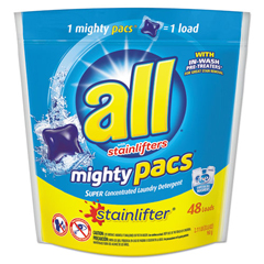 SNP197005381 - All® Mighty Pacs Free and Clear Super Concentrated Laundry Detergent