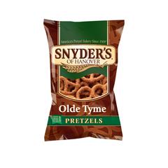 BFVSNY025492 - Snyder'sLarge Single Serve Olde Tyme Pretzels
