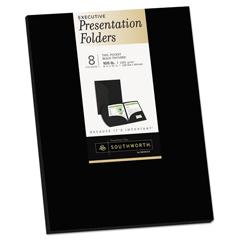 SOU98870 - Southworth® Two-Pocket Presentation Folders