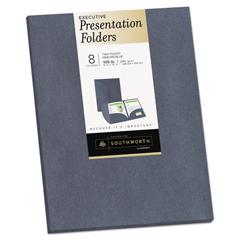 SOU98872 - Southworth® Two-Pocket Presentation Folders