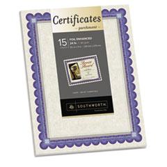SOUCT1R - Southworth® Parchment Certificates