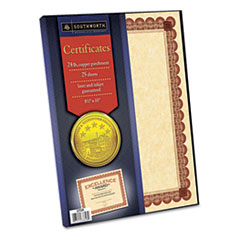 SOUCT5R - Southworth® Parchment Certificates