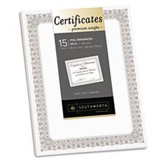 SOUCTP1W - Southworth® Premium Certificates