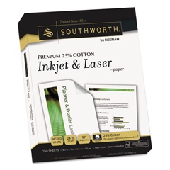 SOUJ344C - Southworth® Premium 25% Cotton Inkjet and Laser Paper