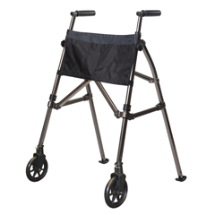 SRX4300-BW - StanderEZ Fold-N-Go Walker - Black Walnut