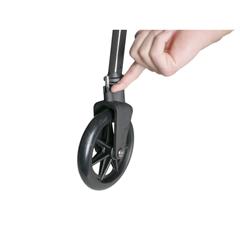SRX4300-BW - Stander - EZ Fold-N-Go Travel Folding Walker - Black Walnut