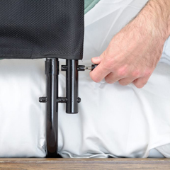 SRX8051 - Stander30 Safety Bed Rail & Padded Pouch - Pivoting Bed Rail & Bed Handle