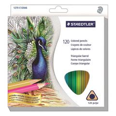 STD1270C120 - Staedtler® Triangular Colored Pencil Set