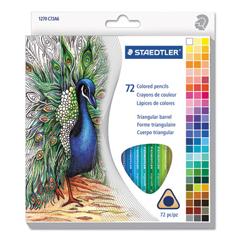 STD1270C72A6 - Staedtler® Triangular Colored Pencil Set
