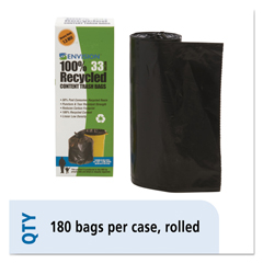 STOT3340K13R - Stout® Recycled Plastic Trash Bags
