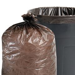STOT4349B15 - Stout® Total Recycled Content Low Density Trash Bags